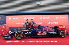 Verstappen , Sainz Jr  Toro Rosso - Renault 2015