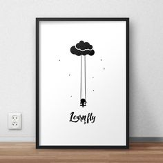 Learn to fly/Impara a volare Stampa digitale dell… – Fliegen lernen / Fliegen lernen Digitaldruck von … – Related posts: No related posts. Typography Prints, Art Drawings Simple, Black And White Aesthetic, Monochrome Art, Wall Art, Drawings, Lettering, Scandinavian Art, Prints