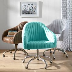 26. Soho Desk Chair, Multiple color options available, $299 + 15% off