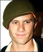 Heath Ledger. Was a great actor, truly a shame he died