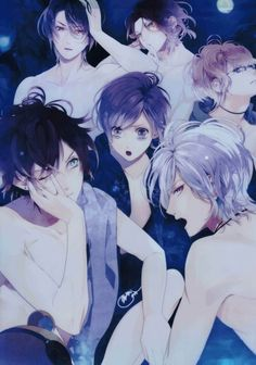 Diabolik Lovers.... I love how the fandom is making a comeback now that the dub is getting released...