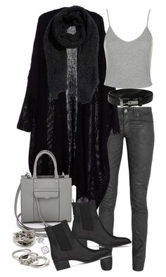"""""""Untitled #18787"""" by florencia95 ❤ liked on Polyvore featuring Acne Studios, Yves Saint Laurent, Rebecca Minkoff, H&M, Topshop, Lauren Ralph Lauren and Forever 21"""