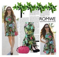 """Romwe II - 8"" by hetkateta ❤ liked on Polyvore featuring Nicki Minaj"