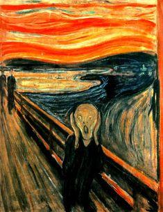 Análisis y comentario del Grito. Munch | sdelbiombo. Una mirada artística al mundo