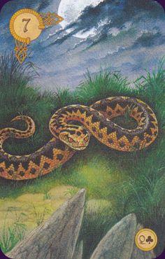Celtic Lenormand Deck artwork by Will Worthington