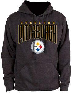 ed5243481 Authentic Nfl Apparel Men s Pittsburgh Steelers Defensive Line Hoodie  Steelers Hoodie