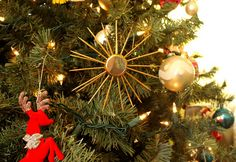atomic sunburst ornaments DIY
