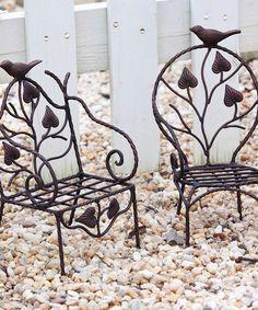 Metal Chair Garden Pot Holder