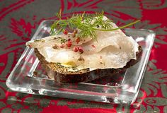 Graavisiika / Gravad white fish for Christmas dinner - delicious! Finland