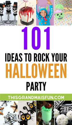 Halloween is coming and that means it's time to crank up the spookiness and party like it's your deathday! Here are 101 ideas to rock your Halloween party! Halloween Bark, Halloween Snacks, Cute Halloween, Vintage Halloween, Halloween Tips, Halloween 2020, Halloween Stuff, Cheese Appetizers, Easy Appetizer Recipes