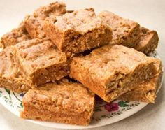 """""""Butterscotch Bars"""" is a sweet treat that is full of butterscotch flavor!"""