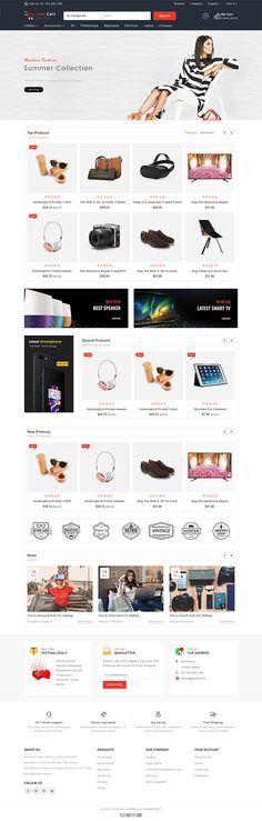 Funki - Fashion Store is Responsive theme and designed for selling fashion Apparel,Wear,Accessories,Clothing store. Theme is responsive and supports all devices,user-friendly and fine-looking Ecommerce Website Design, Website Design Layout, Computer Theme, Ecommerce Store, Photoshop, Website Themes, Web Design Inspiration, Design Ideas, Pet Store