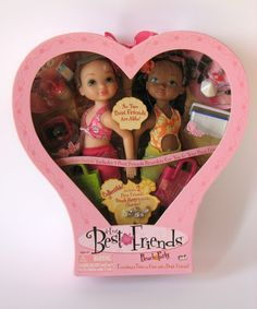 Lot Of 3 Mga 4 Ever Best Friends Dolls With Clothes