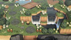 Animal Crossing Funny, Animal Crossing Guide, Animal Crossing Qr Codes Clothes, Ac New Leaf, Garden Entrance, Motifs Animal, Entrance Design, Animal Games, Island Design
