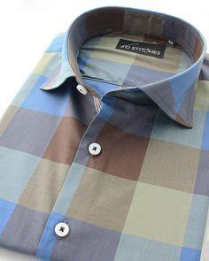 Nikka the handsome checks shirt!  Shop at 16Stitches.com  #menswear #mensstyle #mensfashion #summer #style #fashion #trend #trendy #shirts #luxury #formal #fb #formals #formalwear #classy #classic #classymen #dapper #dappermen #instalike #instagood