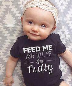 BLACK FRIDAY SALE Baby Girl Bodysuit trendy baby by LineLiam