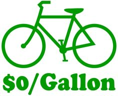 cycling - the best way to beat gas prices