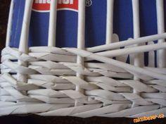 Pletení z papíru vzoreček