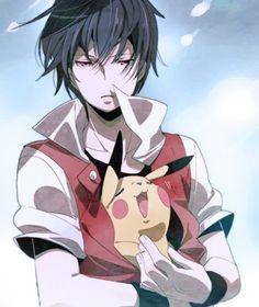 Pokemon red Pikachu Nintendo Anime Snow