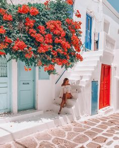 Find images and videos about travel, greece and mykonos on we heart it - th Greece Photography, Travel Photography, Mykonos Grecia, Mykonos Town, Places To Travel, Places To Go, Travel Destinations, Greece Pictures, Photos Voyages