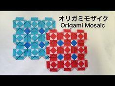 折り紙でモザイク模様♩ Origami Mosaic