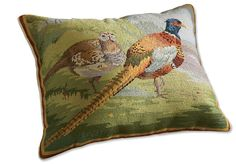 Just found this Decorative Pillows - Pheasants Afield Needlepoint Pillow -- Orvis on Orvis.com!