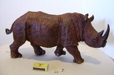 carved rhino - Google Search