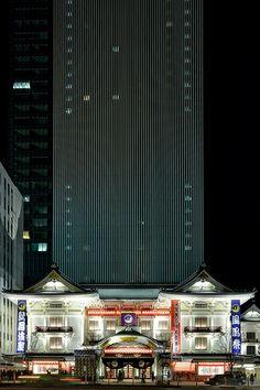 Kabukiza (歌舞伎座) / Architect by Kengo Kuma (設計:隈研吾)