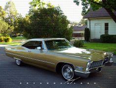 1963 Cadillac Coupe de Ville Fastback. Rare.