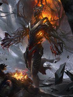 Répertoire Image Fantasy - Page 681 Dark Fantasy Art, Fantasy Artwork, Dark Art, Fantasy Monster, Monster Art, Epic Art, Amazing Art, Awesome, Fantasy Creatures