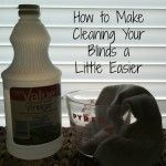 How to Make Cleaning Your Blinds a LITTLE Easier