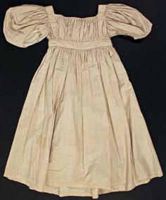 1830 girl's dress