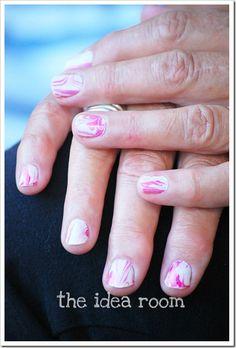 Marble fingernails