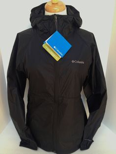 Great hooded rain jacket for when you're caught in a summer storm! #Columbia #Raincoat