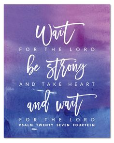 Psalm 27 NEW