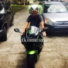Rekairbrush Custom Airbrushed Motorcycle Helmet 435