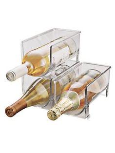 Stackable Wine Rack | Solutions.blair.com #Kitchen #Wine #Organization