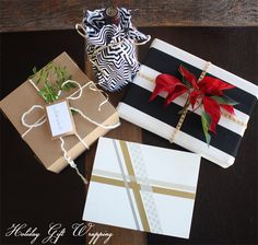 CHRISTMAS WRAPPING IDEAS   Mirabelle Creations: Christmas Gift Wrapping Ideas