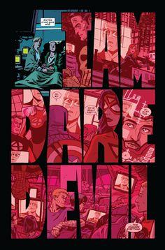 """""""I am Daredevil"""" -- Amazing art for Matt Murdock's confession. Preview: Daredevil #36"""
