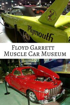 Husband Heaven: Floyd Garrett Muscle Car Museum in Sevierville, Tennessee