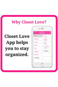 Closet Love organizes your clothes virtually into various categories and surf anytime without the mess. Holiday Shoes, Sports Party, Work Tops, Virtual Closet, Organization, Style Inspiration, App, Love, Learning