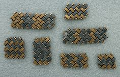Linda's Crafty Inspirations: Bracelet of the Day - Half Tila Herringbone - Matte Bronze & Gunmetal