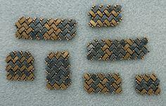 Linda's Crafty Inspirations: Bracelet of the Day - Half Tila Herringbone - Matte Bronze & Gunmetal