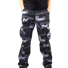 Joggers Pants for Women,Sunyastor Women Drawstrings Jogger Sweatpants Camouflage Stretch Lounge Yoga Pants with Pockets