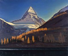 Author: Rockwell Kent. Landscape, Painting, Oil on canvas, 81x87 cm. Origin: USA, 1952. Source of entry: Board of Directors of Artistic Exhibitions and Panoramas, 1964.
