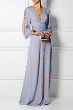 77c22d0c9c Sexy V Neck Long Sleeves Maxi Dress
