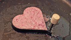 Healthy Pink Heart Pancakes « PharmerSarah