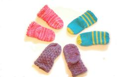 Luxurious Newborn Baby Sock Set in Candy Colors