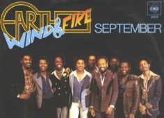 """Music Monday - """"September"""" by Earth Wind and Fire (1978).  Great song video at my blog!"""