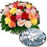 Shopping online mixed rose and barfi for Mumbai delivery. We deliver fresh gifts to Mumbai from our website. Visit our site : www.mumbaiflowersdelivery.com/flowers/sweets-to-mumbai.html